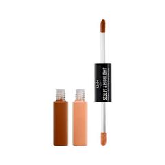 Хайлайтер NYX Professional Makeup Средство для контурирования Sculpt  Highlight Face Duo 04 (Цвет 04 Cinnamon/Peach variant_hex_name DAA174)