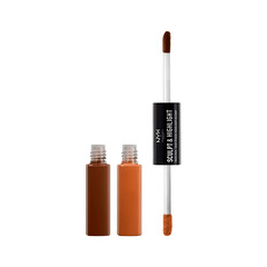 Хайлайтер NYX Professional Makeup Sculpt & Highlight Face Duo 06 (Цвет 06 Espresso/Honey variant_hex_name B17749) nyx professional makeup консилер для лица concealer jar deep espresso 095