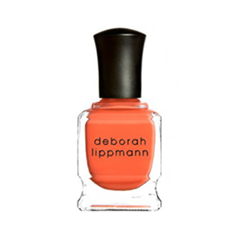 Лак для ногтей Deborah Lippmann Crème Nail Polish Lara`s Theme (Цвет Lara`s Theme variant_hex_name FF5933) лак для ногтей deborah lippmann crème nail polish drunk in love цвет drunk in love variant hex name 6a2750