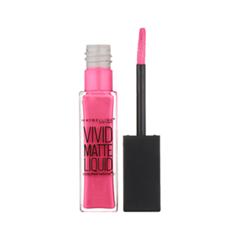 Жидкая помада Maybelline New York Color Sensational Vivid Matte Liquid 15 (Цвет 15 Дерзкий розовый variant_hex_name FD328B)
