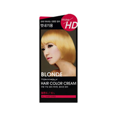 Краска для волос Tony Moly Make HD Hair Color Cream 10L (Цвет 10L Blonde variant_hex_name E0C78E)