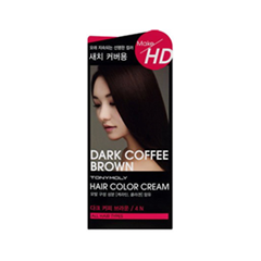 ������ ��� ����� Tony Moly Make HD Hair Color Cream 4N (���� 4N Dark Coffee Brown)