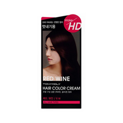 ������ ��� ����� Tony Moly Make HD Hair Color Cream 6W (���� 6W Wine)