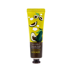 Крем для рук Tony Moly Natural Green Hand Cream Avocado (Объем 30 мл)