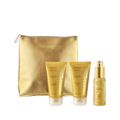 Дорожные наборы Miriamquevedo Набор The Sublime Gold Deluxe Travel Edition Kit