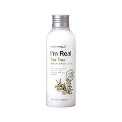 �������� Tony Moly I'm Real Tea Tree Sebum & Pore Lotion (����� 200 ��)