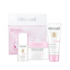Уход Declare Набор Declare Body Care Promo Kit (Объем 200мл+75мл+100мл) logona daily care body lotion organic aloe verbena объем 200 мл
