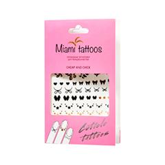 Переводные тату Miami Tattoos Флэш-тату для кутикулы Cheap  Chick