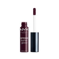 Блеск для губ NYX Professional Makeup Intense Butter Gloss 13 (Цвет 13 Blueberry Tart variant_hex_name 360F22) nyx professional makeup butter gloss 04 цвет 04 merengue variant hex name ed7aa6