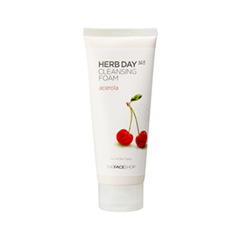 ����� The Face Shop Herb Day 365 Cleansing Foam Acerola (����� 170 ��)