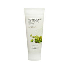 ����� The Face Shop Herb Day 365 Cleansing Foam Mung Beans (����� 170 ��)