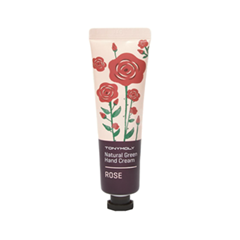 Крем для рук Tony Moly Natural Green Hand Cream Rose (Объем 30 мл) крем для рук lm mini pet hand cream 04 fruity floral 30 мл the face shop