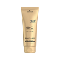 Шампунь Bonacure Excellium Taming Q10+ Omega 3 Shampoo (Объем 200 мл)