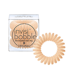 Резинки invisibobble Резинка-браслет для волос Original To Be Or Nude To Be (Цвет To Be Or Nude To Be variant_hex_name EDBF94) invisibobble original mint to be резинка браслет для волос original mint to be резинка браслет для волос