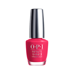 Лак для ногтей OPI Infinite Shine Classic Collection ISL03 (Цвет ISL03 She Went On and On and On variant_hex_name FF255C)
