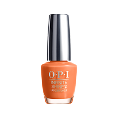 Лак для ногтей OPI Infinite Shine Classic Collection ISL06 (Цвет ISL06 Endurance Race to the Finish variant_hex_name FF8049)