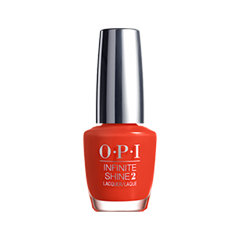 Лак для ногтей OPI Infinite Shine Classic Collection ISL07 (Цвет ISL07 No Stopping Me Now variant_hex_name E93C2C)