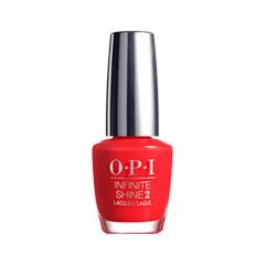 Лак для ногтей OPI Infinite Shine Classic Collection ISL08 (Цвет ISL08 Unrepentantly Red variant_hex_name F21524) лак для ногтей opi holland collection h63 цвет h63 vampsterdam variant hex name 3a122a