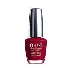 Лак для ногтей OPI Infinite Shine Classic Collection ISL10 (Цвет ISL10 Relentless Ruby variant_hex_name 7C0A2C)