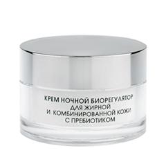 Ночной уход Kora Крем ночной биорегулятор для комбинированной жирной кожи с пребиотиком (Объем 50 мл) пенка kora мусс для очищения проблемной и жирной кожи с пребиотиком объем 160 мл