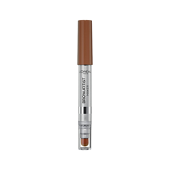 Карандаш для бровей L'Oreal Paris Brow Artist Maker 01 Light Brunette (Цвет 01 Light Brunette variant_hex_name 6B534A)