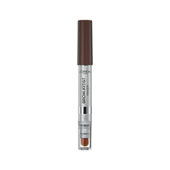 Карандаш для бровей L'Oreal Paris Brow Artist Maker 02 Dark Brunette (Цвет 02 Dark Brunette variant_hex_name 433A3B) dark brunette