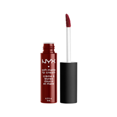 Жидкая помада NYX Professional Makeup Soft Matte Lip Cream 27 (Цвет 27 Madrid  variant_hex_name 7A1E2D) крем schwarzkopf professional 2 medium control upload volume cream 200 мл