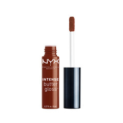 Блеск для губ NYX Professional Makeup Intense Butter Gloss 18 (Цвет 18 Rocky Road variant_hex_name B99696) блеск для губ nyx professional makeup butter gloss 13 цвет 13 fortune cookie variant hex name ec8964
