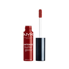 Блеск для губ NYX Professional Makeup Intense Butter Gloss 24 (Цвет 24 Chocolate Apple variant_hex_name 6F2721) nyx professional makeup butter gloss 04 цвет 04 merengue variant hex name ed7aa6