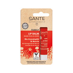 Бальзам для губ Sante Lipstick Balm Pomegranate and Marula (Объем 4 г)