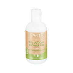 Гель для душа Sante Shower Gel Organic Pineapple  Lemon (Объем 200 мл)