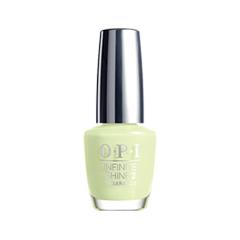 Лак для ногтей OPI Infinite Shine S-Ageless Beauty (Цвет S-Ageless Beauty  variant_hex_name DBE9B8)