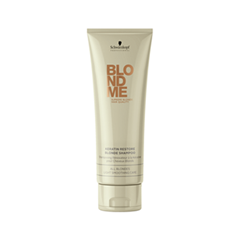 ������� Schwarzkopf BlondMe Color Enhancing Blonde Shampoo All Blondes Light Smoothing Care (����� 250 ��)