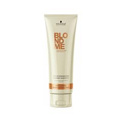 ������� Schwarzkopf BlondMe Color Enhancing Blonde Shampoo Rich Caramel (����� 250 ��)