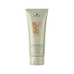 Кондиционер Schwarzkopf BlondMe Keratin Restore Blonde Conditioner (Объем 200 мл)