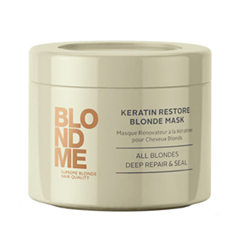 ����� Schwarzkopf BlondMe Keratin Restore Blonde Mask (����� 200 ��)