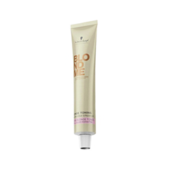 Краска для волос Schwarzkopf Крем тонирующий BlondMe Blonde Toning Cream Caramel (Цвет Caramel variant_hex_name B89C77)