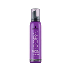 ������ ��� ����� Schwarzkopf ���� ���������� Igora Expert Mousse 9,5-55 (���� 9,5-55 Honey)
