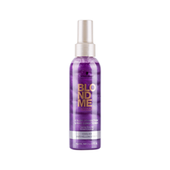 Кондиционер Schwarzkopf Спрей-кондиционер BlondMe Cool Ice Spray Conditioner (Объем 200 мл) шампуни schwarzkopf professional шампунь bm blonde cool ice 250 ml