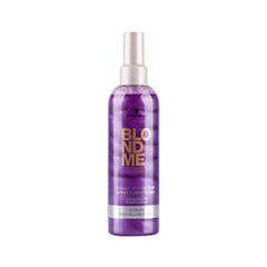 ����������� Schwarzkopf �����-����������� BlondMe Cool Ice Spray Conditioner (����� 400 ��)