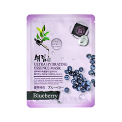 Тканевая маска Shelim Hydrating Essence Mask Blueberry (Объем 25 мл)