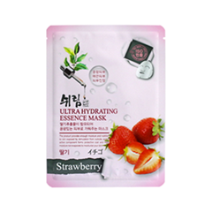 Тканевая маска Shelim Hydrating Essence Mask Strawberry (Объем 25 мл)