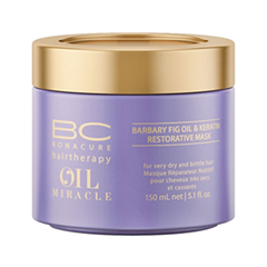 Oil Miracle Barbary Fig Keratin Restorative Mask (Объем 150 мл)