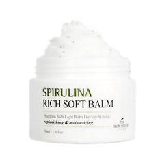 Крем The Skin House Крем-бальзам Spirulina Rich Soft Balm (Объем 50 мл)