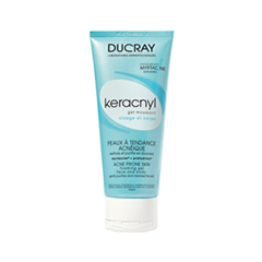 Гель Ducray Очищающий гель Keracnyl Gel Moussant (Объем 200 мл) гель tony moly the chok chok green tea essential soothing gel объем 200 мл