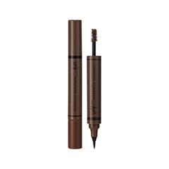 Брови Enprani Подводка-тушь Inkronize Dual Brow 01 (Цвет 01 Dark Brown variant_hex_name A47352)