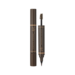 Брови Enprani Подводка-тушь Inkronize Dual Brow 02 (Цвет 02 Light Brown variant_hex_name 8B6C4E) тушь активатор enprani enprani en008lwgox59