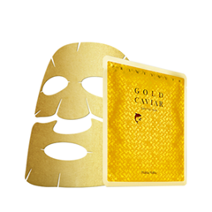 Тканевая маска Holika Holika Prime Youth Gold Caviar Gold Foil Mask (Объем 25 мл) тканевая маска holika holika prime youth gold caviar gold foil mask объем 25 мл