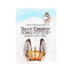 Тканевая маска Elizavecca Donkey Piggy Silky Creamy Donkey Steam Cream Mask Pack (Объем 25 г) тканевая маска bioaqua animal tiger supple mask объем 30 г