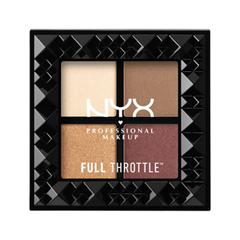 Для глаз NYX Professional Makeup Full Throttle Shadow Palette 01 (Цвет 01 Daring Damsel variant_hex_name CA7F71) nyx professional makeup палетка теней для век full throttle shadow palette bossy 07